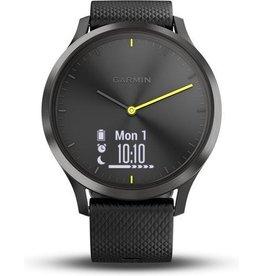 Garmin Garmin Vivomove HR - Hybride Smartwatch - 43 mm - Zwart koopjeshoek