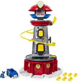 Paw Patrol PAW Patrol, Mighty Pups Super PAWs Speelset-uitkijktoren met lampjes en geluiden, vanaf 3 jr.