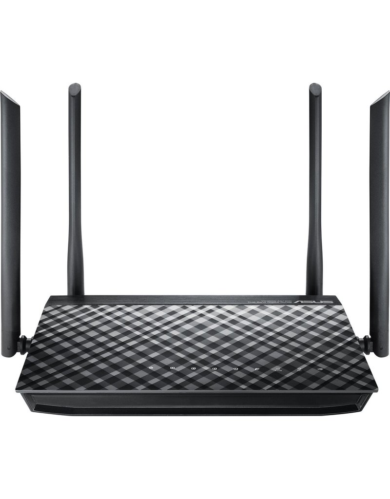 ASUS ASUS RT-AC1200G Plus - Router - 1200 Mbps koopjeshoek