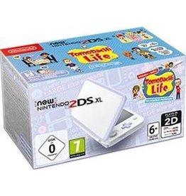 Nintendo New Nintendo 2DS XL, Console   Tomodachi Life (White / Lavender) koopjeshoek