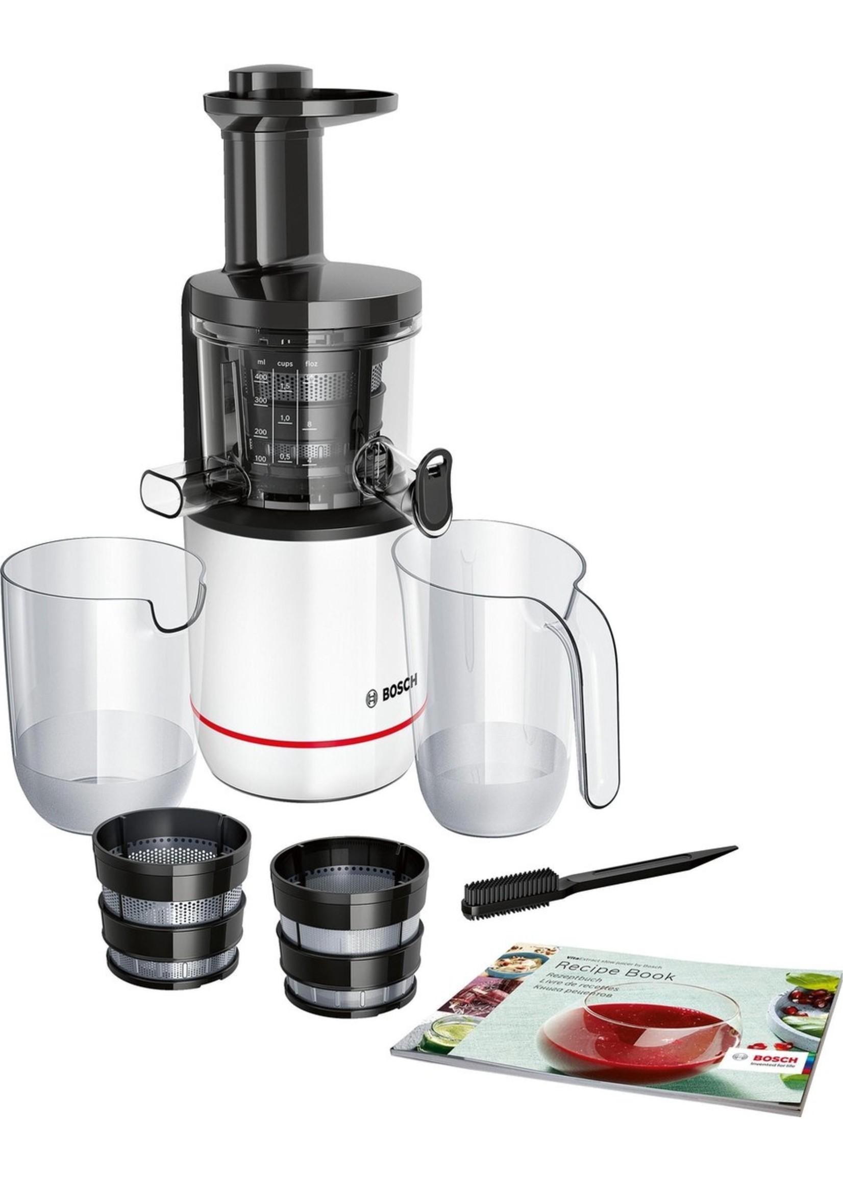 Bosch Bosch MESM500W VitaExctract  - Slowjuicer - Zwart Wit koopjeshoek