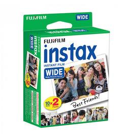 Fujifilm Fujifilm Instax Wide Film 2x10 stuks - koopjeshoek