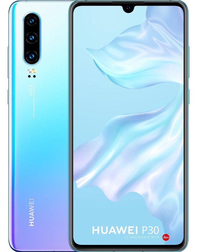 Huawei Huawei P30 - 128GB - Blauw (Breathing Crystal)