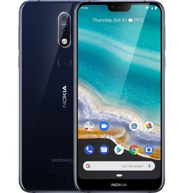 Nokia Nokia 7.1 - 32GB - Single SIM - Blauw koopjeshoek