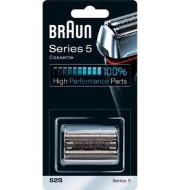 Braun Braun Series 5 52S Cassette Zwart - Vervangend Scheerblad koopjeshoek