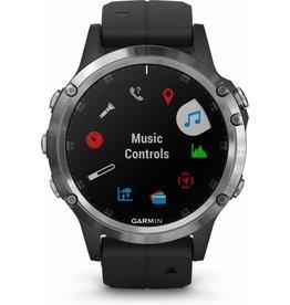 Garmin Garmin fēnix 5 Plus - Smartwatch - 47 mm - Zilver/Zwart koopjeshoek