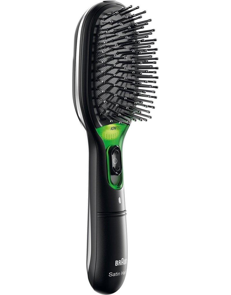 Braun Braun BR710 Volwassene Paddle haarborstel Zwart, Groen 1 stuk(s) koopjeshoek