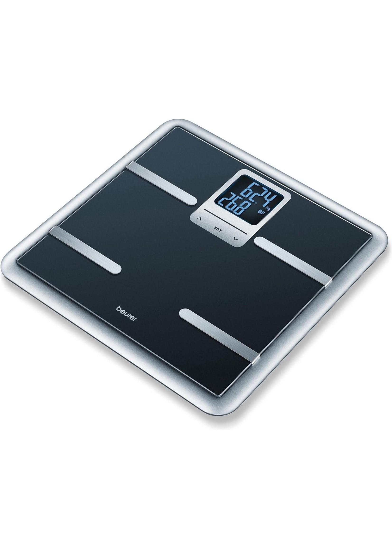 Beurer Beurer BG40 - Personenweegschaal lichaamsanalyse - 150kg - Zwart koopjeshoek