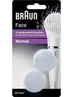 Braun Braun gezichtsreinigingsborstel navulling Silk-epil SE 80