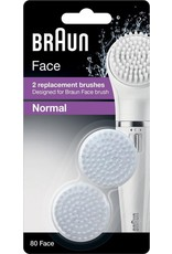 Braun gezichtsreinigingsborstel navulling Silk-epil SE 80