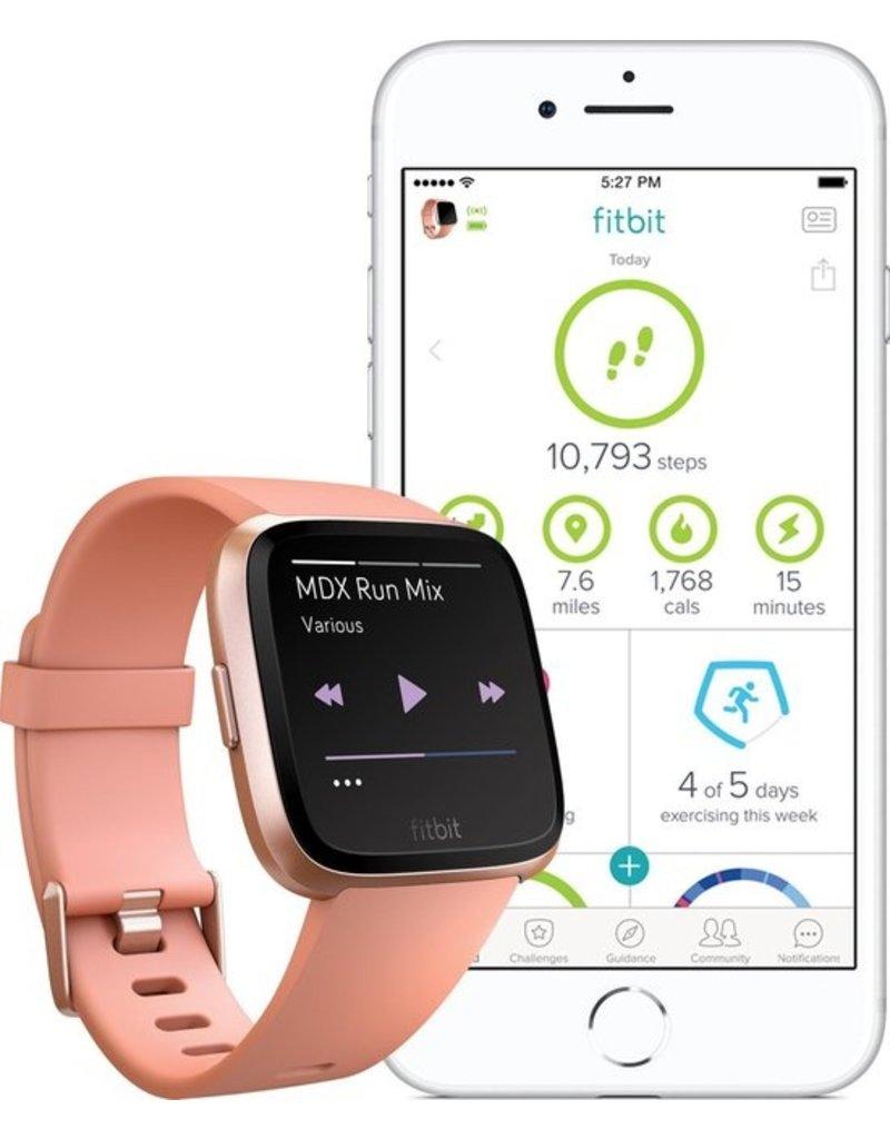 Fitbit Fitbit Versa - Smartwatch - Peach