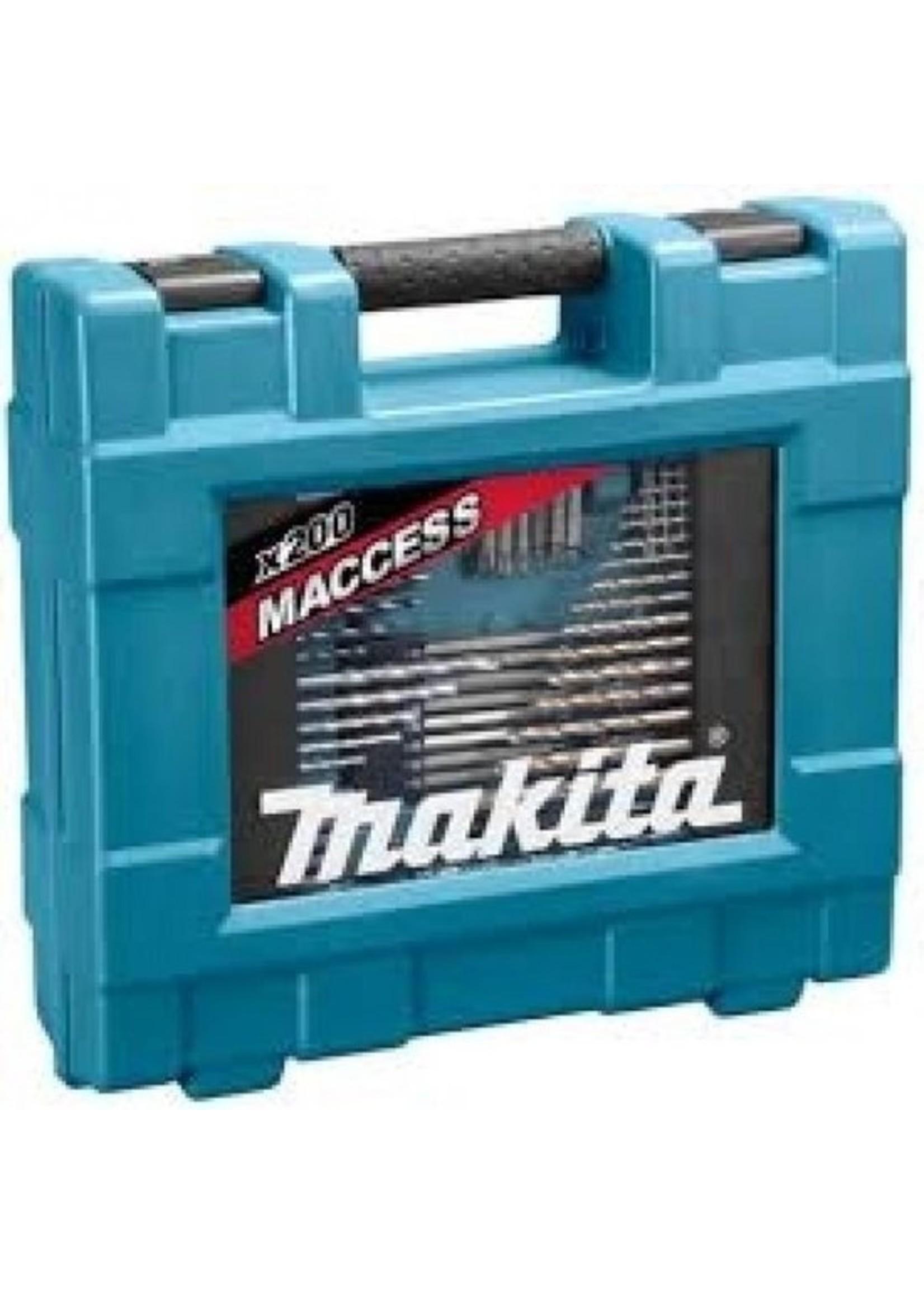 Makita Makita D-37194 Bit-, Boren- en Gereedschapset 200-delige in koffer