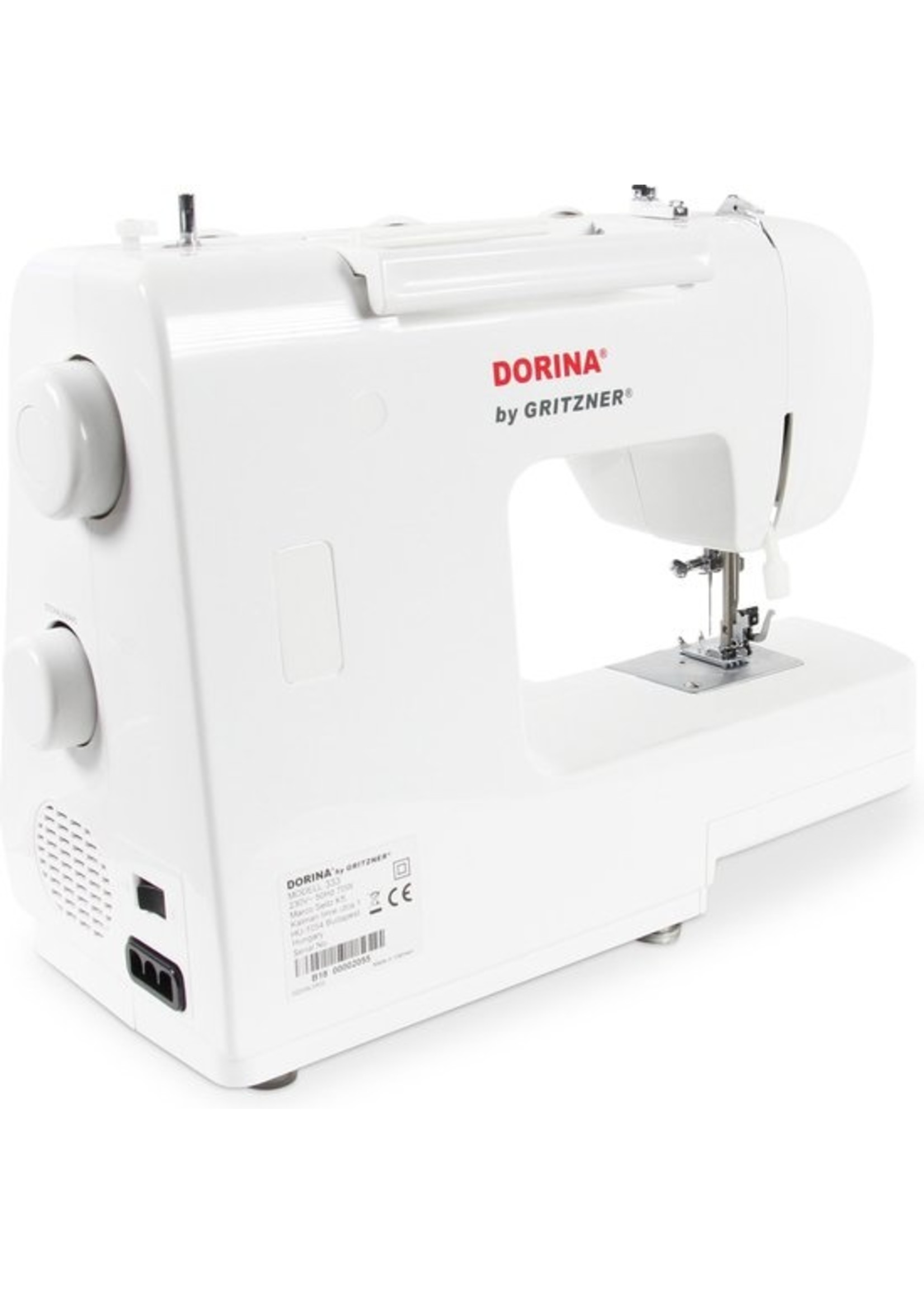 Gritzner Dorina by Gritzner 333 Naaimachine