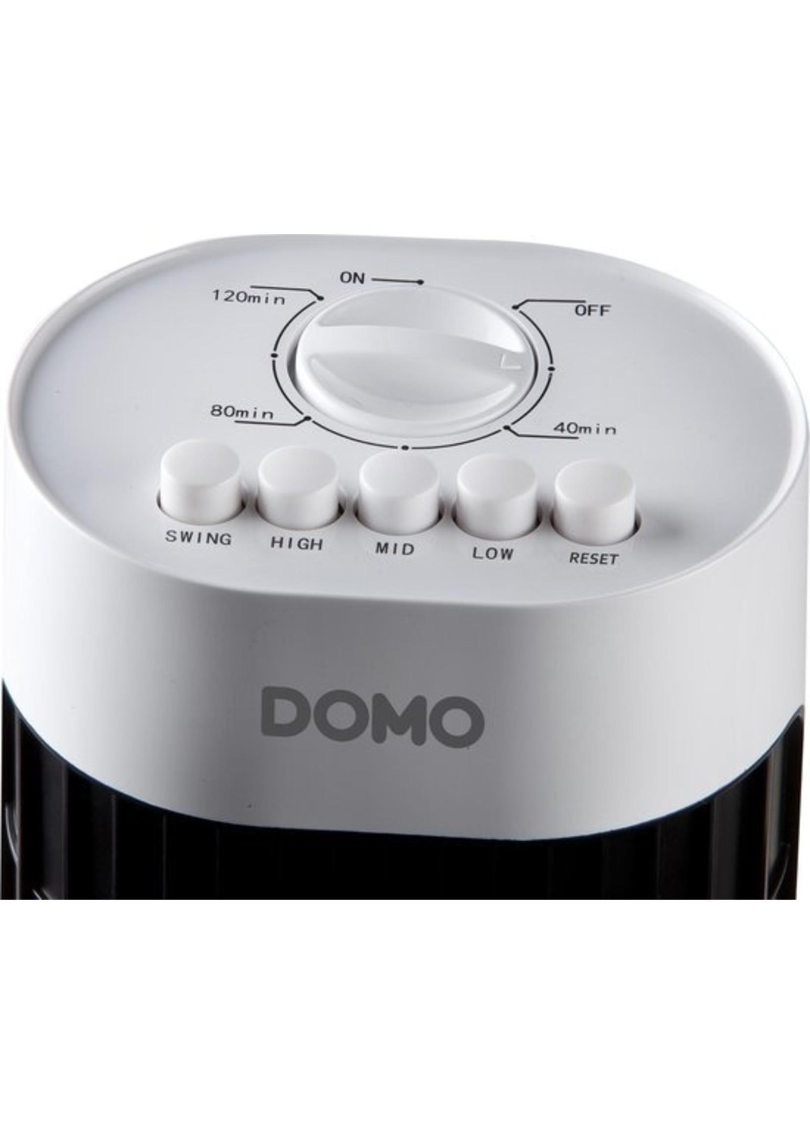 Domo Domo DO8125 Torenventilator Zwart/Wit