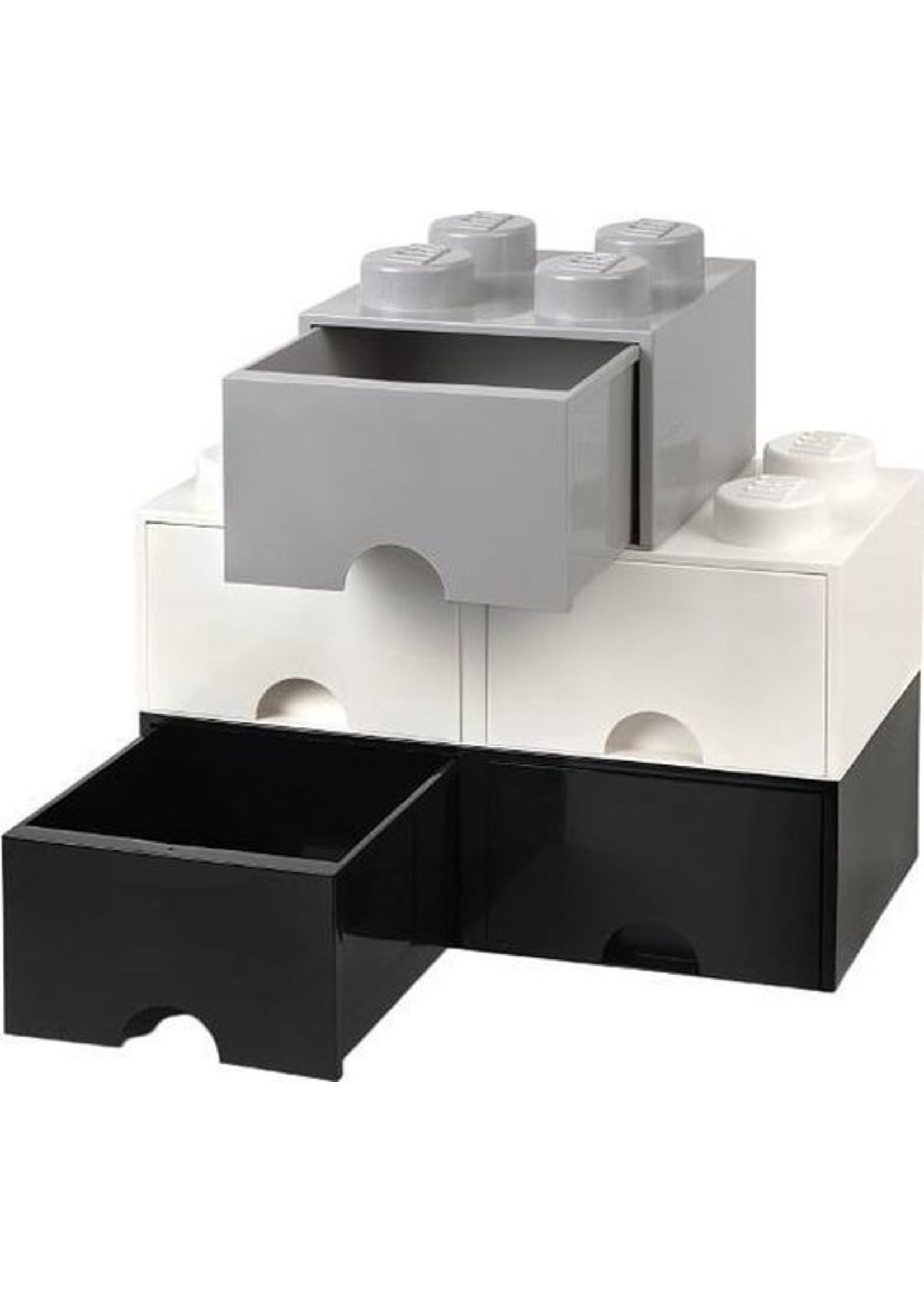 Lego LEGO Brick 8 Opbergbox - Kunststof - Zwart