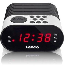 Lenco Lenco CR-07 - Wekkerradio met slaaptimer en dubbel alarm - Wit koopjeshoek