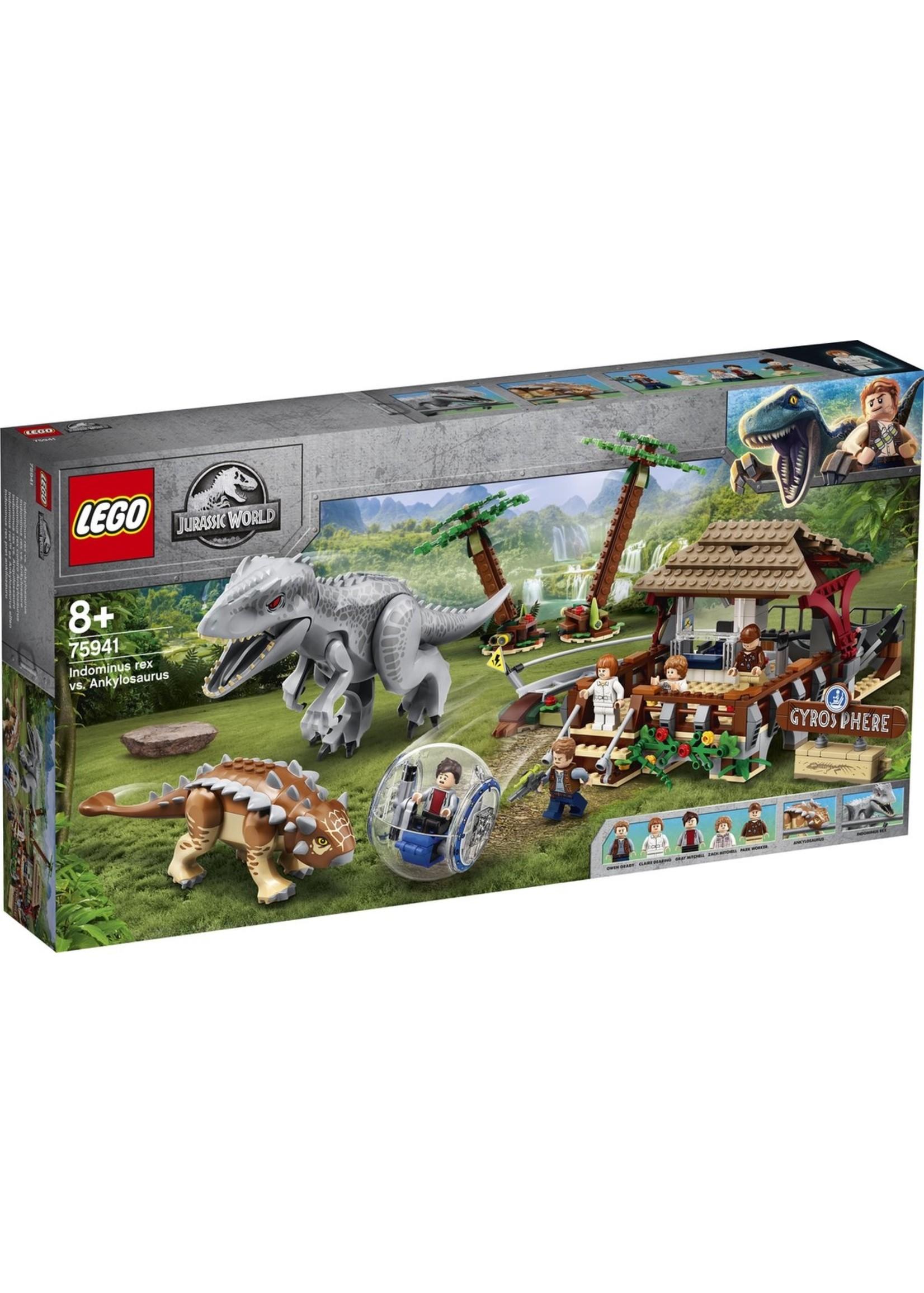 Lego LEGO Jurassic Park Indominus Rex vs. Ankylosaurus -75941 koopjeshoek