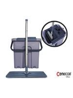 Cenocco Cenocco CC-9070: platte Mop met emmer grijs