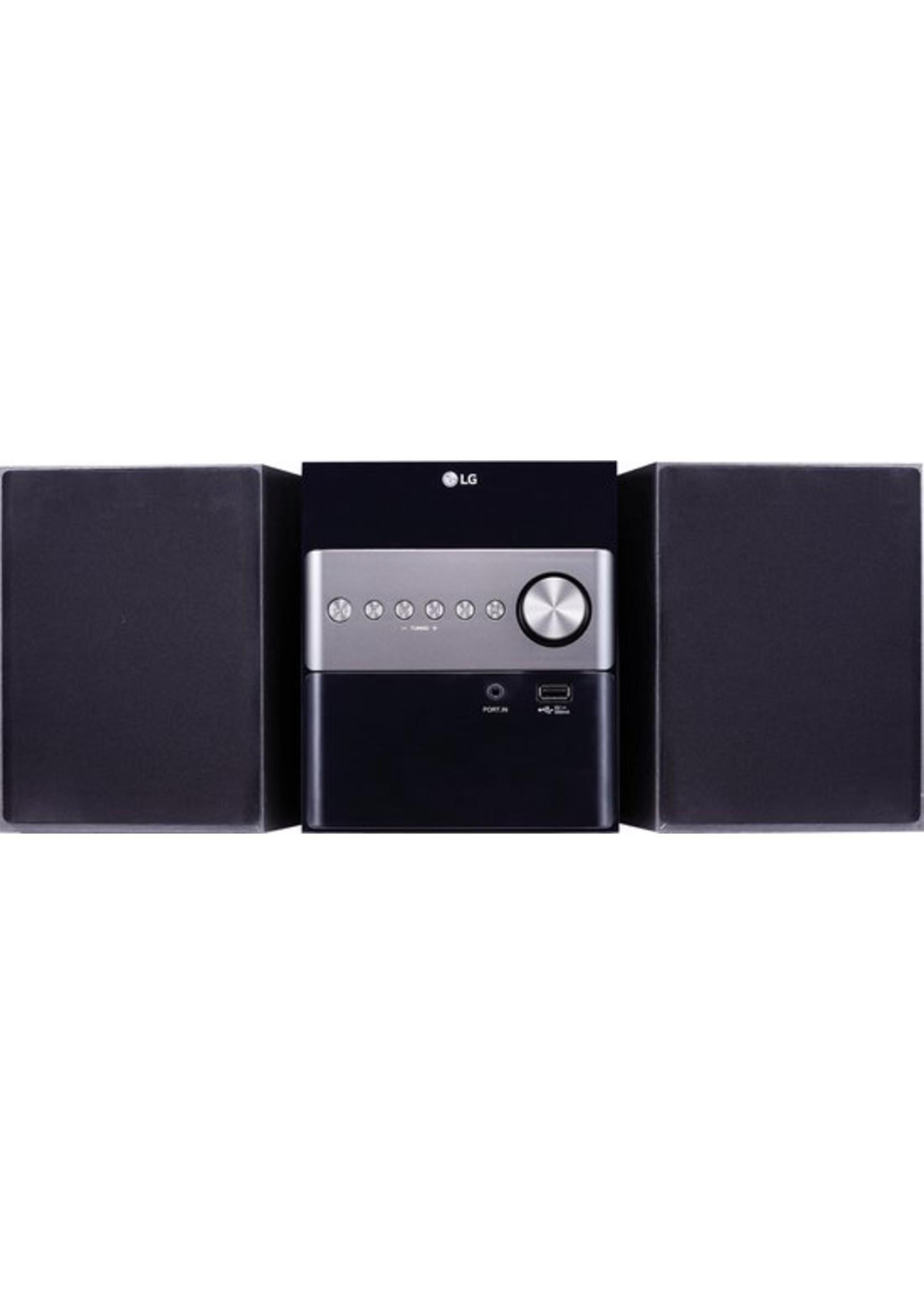 LG LG XBoom Micro Hi-Fi Home audio-microsysteem Zwart 10 W