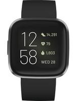 Fitbit Fitbit Versa 2 - Smartwatch - Zwart koopjeshoek