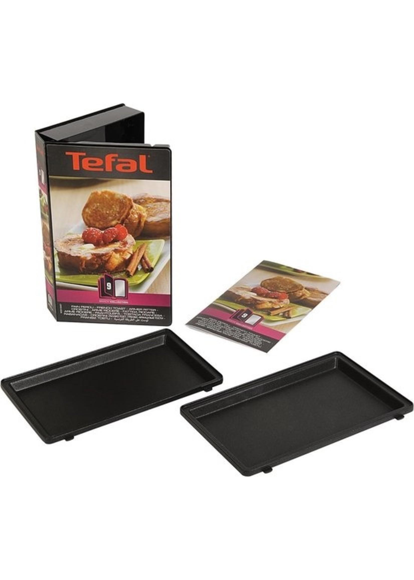 Tefal Tefal Snack Collection XA8009 - Wentelteefjes-platen