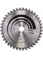 Bosch Bosch Cirkelzaagblad Optiline Wood  254 x 30 x 2,8 mm - 40 tanden - geschikt voor alle merken