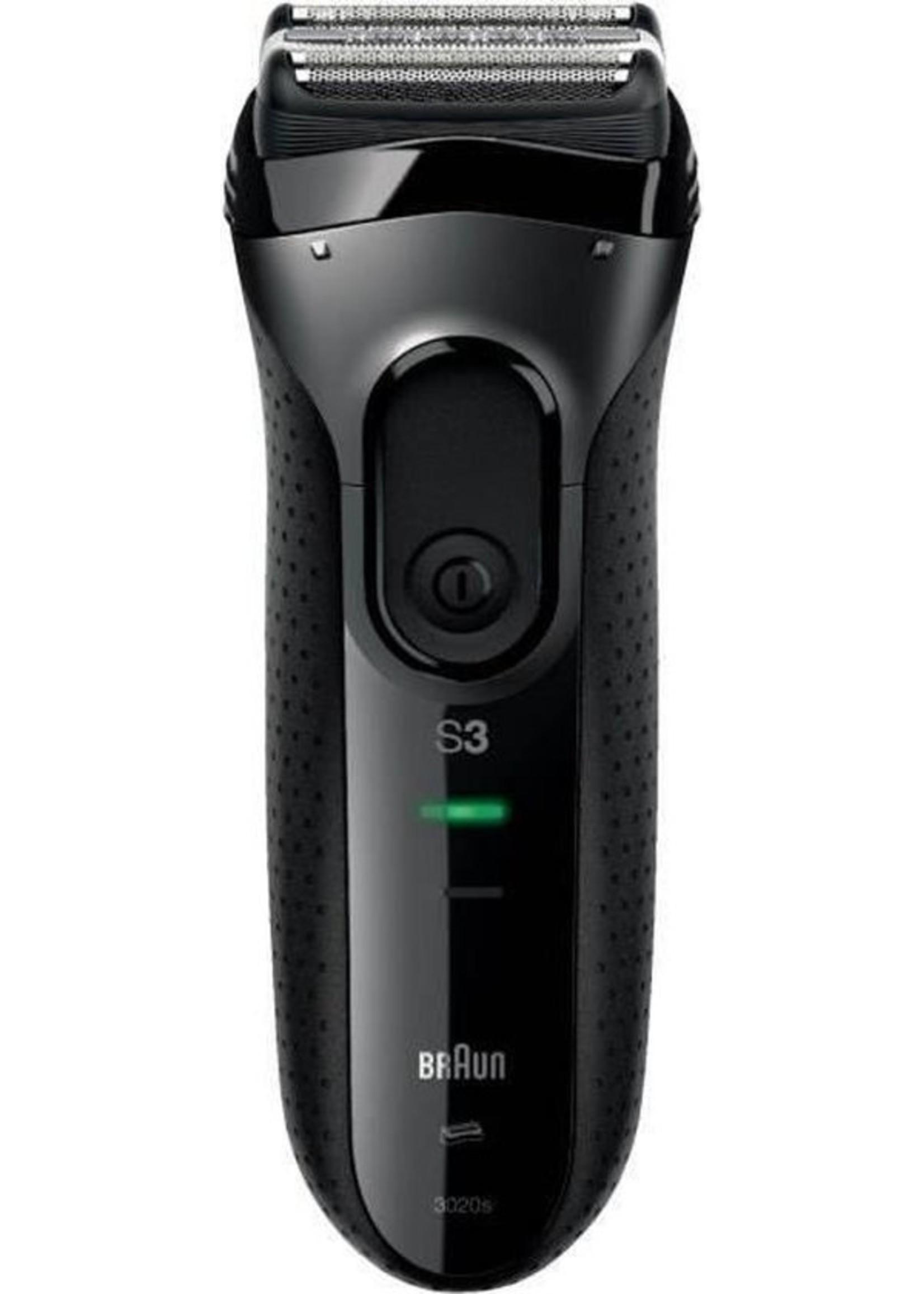 Braun Braun Series 3 3020s ProSkin Zwart - Elektrisch Scheerapparaat
