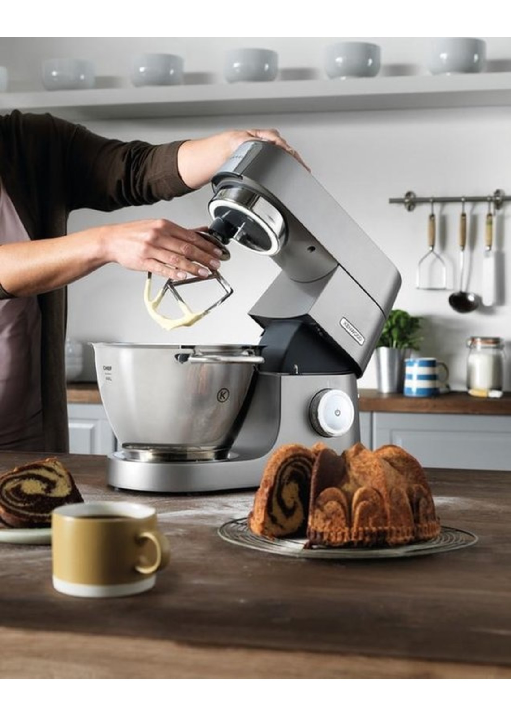 Kenwood Kenwood Chef Titanium KVC7300S - Keukenmachine