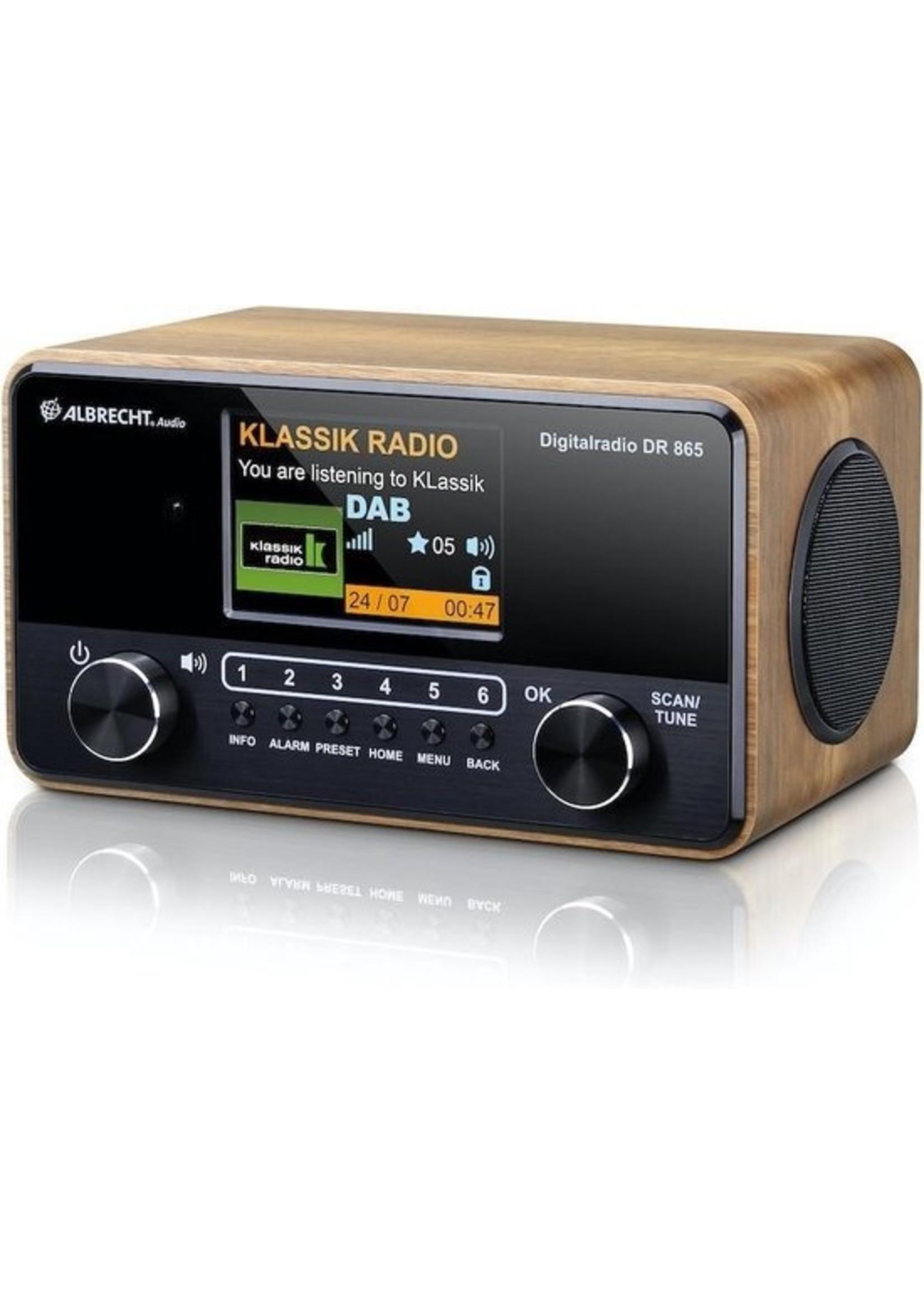 Albrecht Albrecht DR 865 Senior DAB  en FM-radio