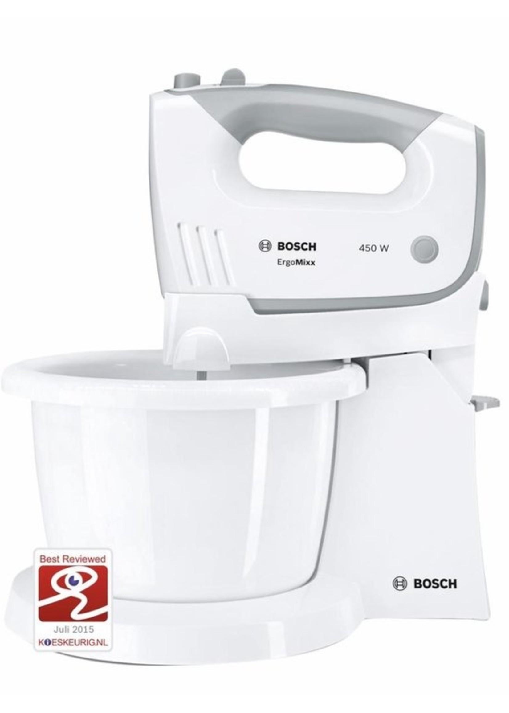 Bosch Bosch MFQ36460 ErgoMixx - Mixer - Incl mengkom - Wit koopjeshoek