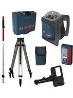 Bosch Bosch GRL 500 HV rotatie laser set + LR 50 ontvanger in koffer + BT 170 HD Statief + GR 240 Meetlat