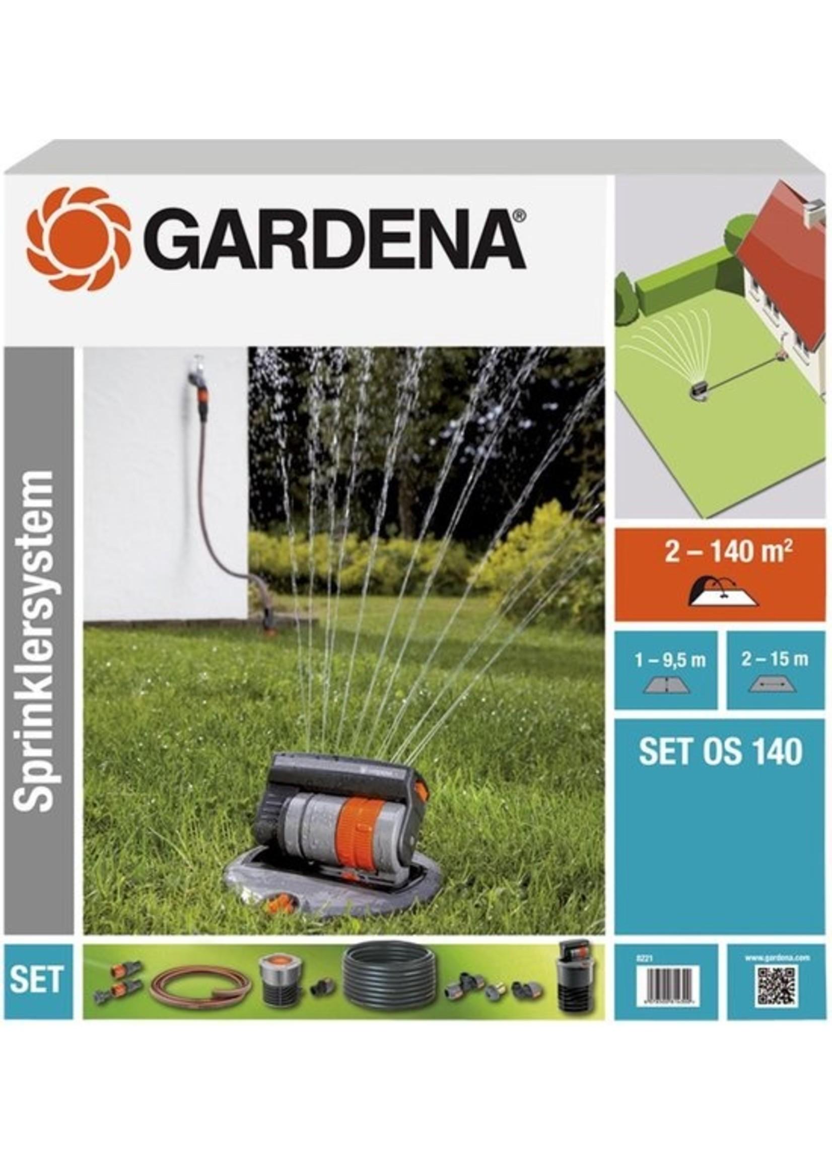 Gardena GARDENA Complete Set Incl. Verzonken Zwenksproeier Tuinsproeier - Gazons tot 140 m² koopjeshoek