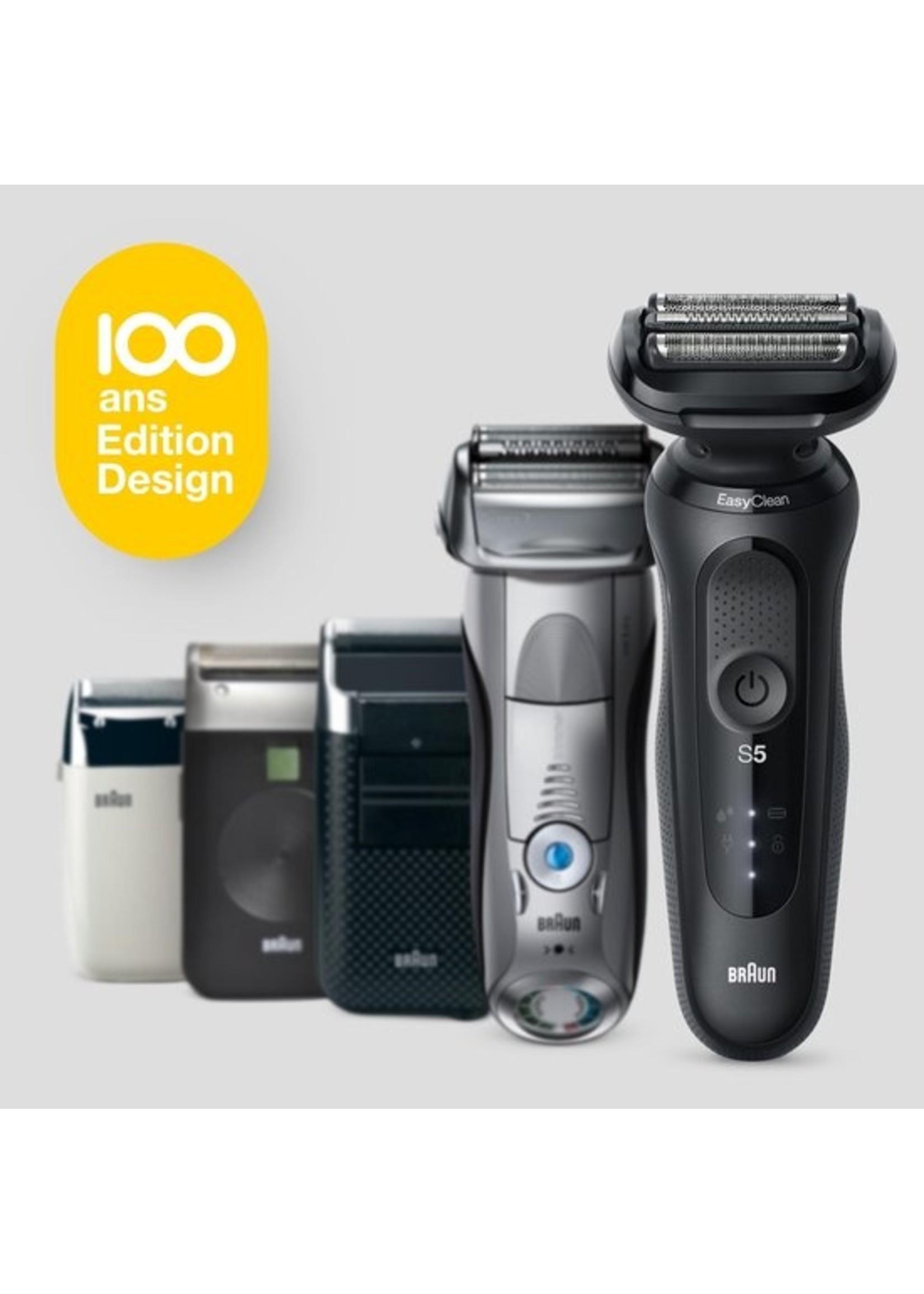 Braun Braun Series 5 Elektrisch , Design Editie met Reisetui - Zwart