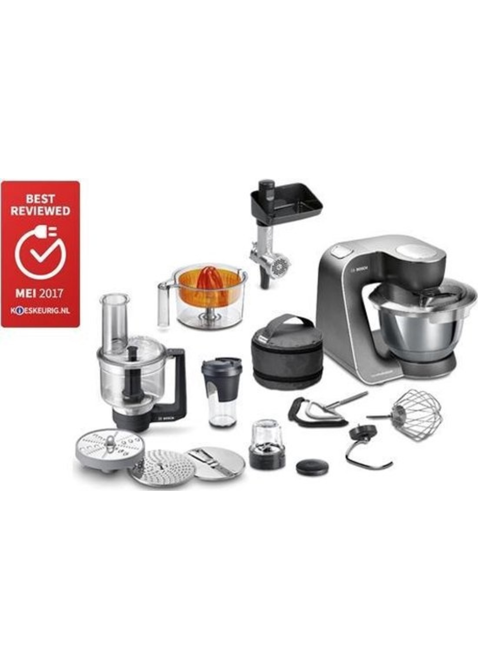 Bosch Bosch MUM5 HomeProfessional MUM59M55 - Keukenmachine - Zwart