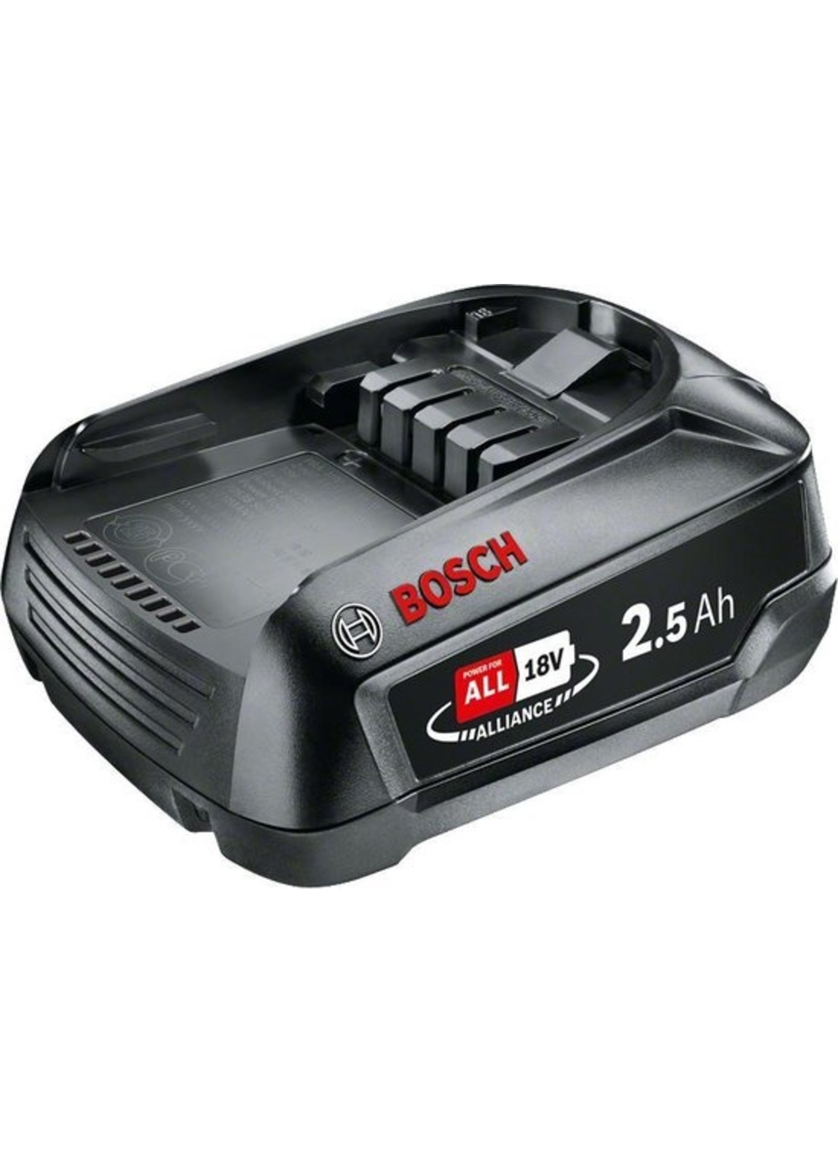 Bosch Bosch Lithium-Ion accu / batterij - 18 Volt - 2,5 Ah - Cordless family concept - exclusief oplader
