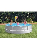 Intex Intex Opzetzwembad Prism Frame Ø305 X 76 Cm Grijs