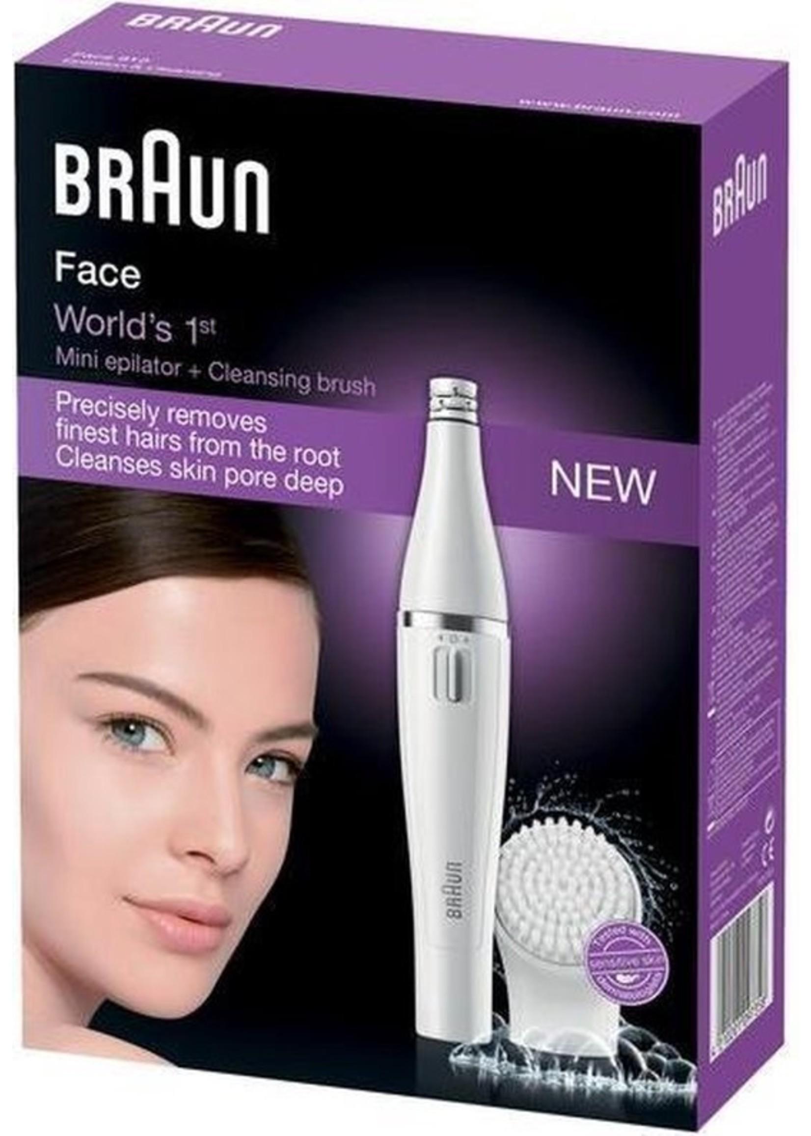 Braun Braun Face SE810 - Epilator Met Gezichtsreinigingsborstel