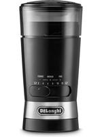 DeLonghi De'Longhi - Koffiemolen - Roestvrij staal - Zwart - 100 gram