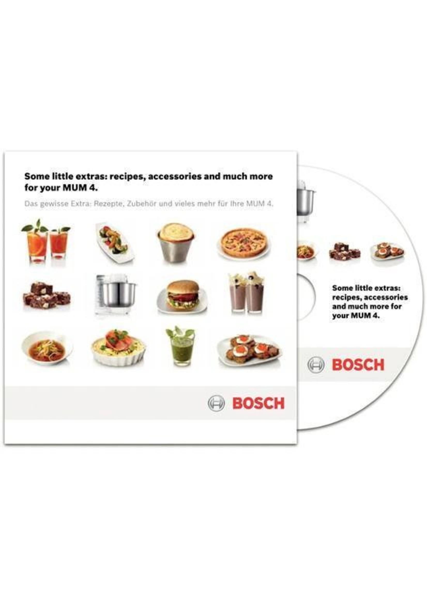 Bosch Bosch MUM48R1 - Keukenmachine - Rood