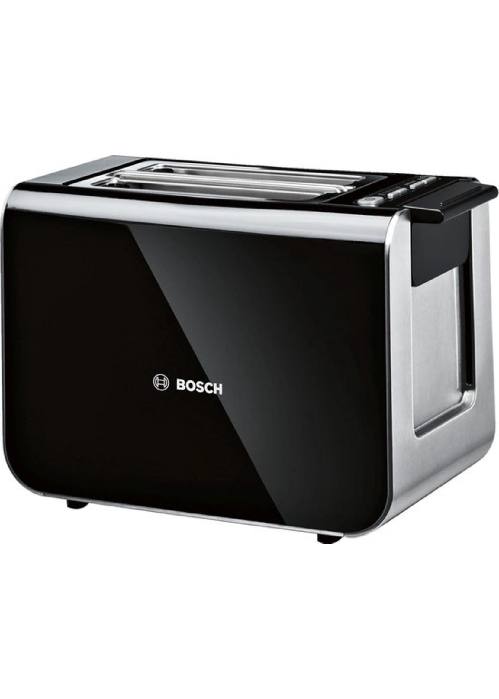 Bosch Bosch TAT8613 Styline - Broodrooster - Piano Zwart
