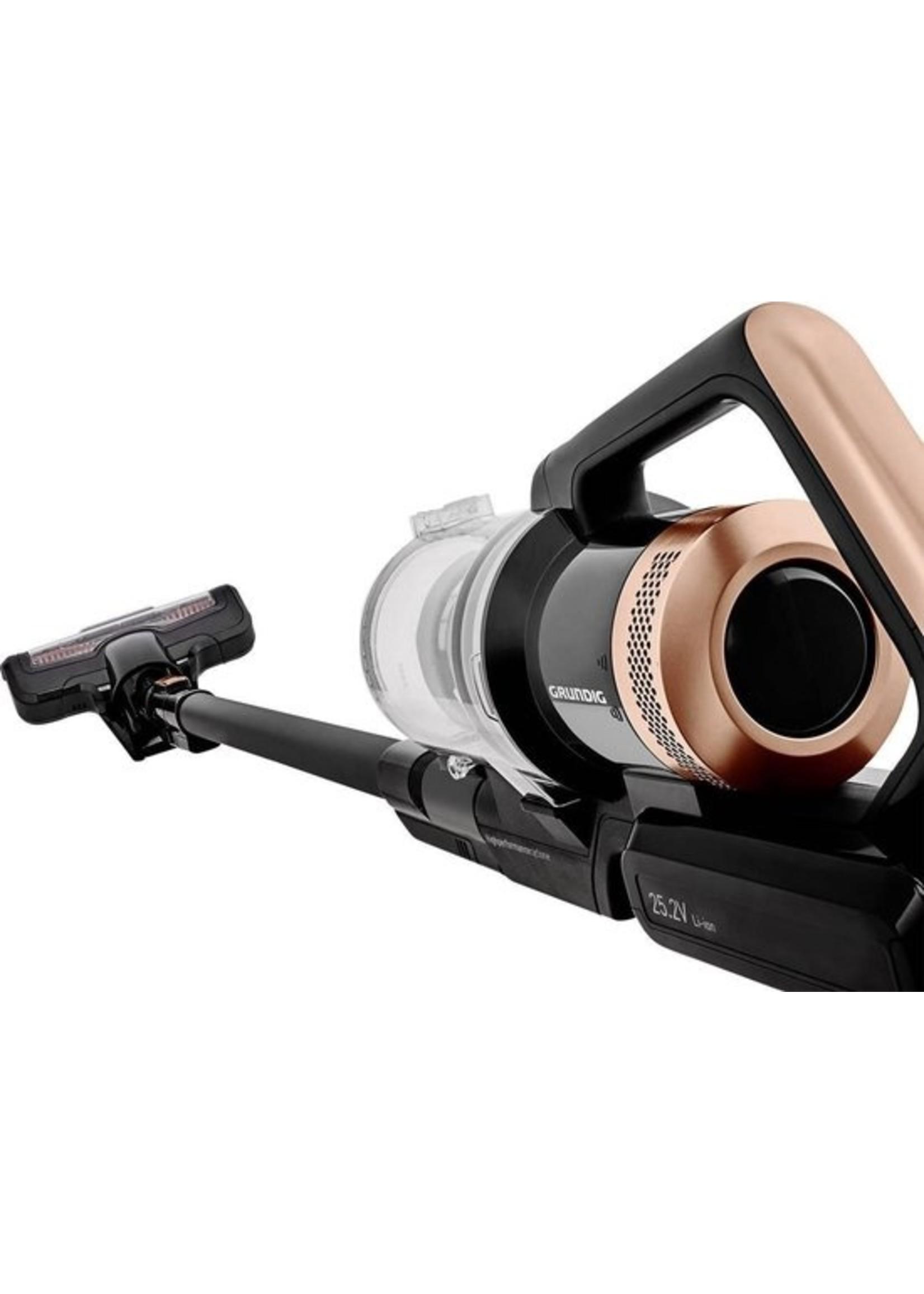 Grundig Grundig VCP 3930 Accu-handstofzuiger 25.2 V Zuigborstel met motor