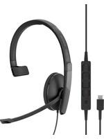 Sennheiser Sennheiser EPOS  ADAPT SC 130 USB-C Headset Hoofdband - Zwart