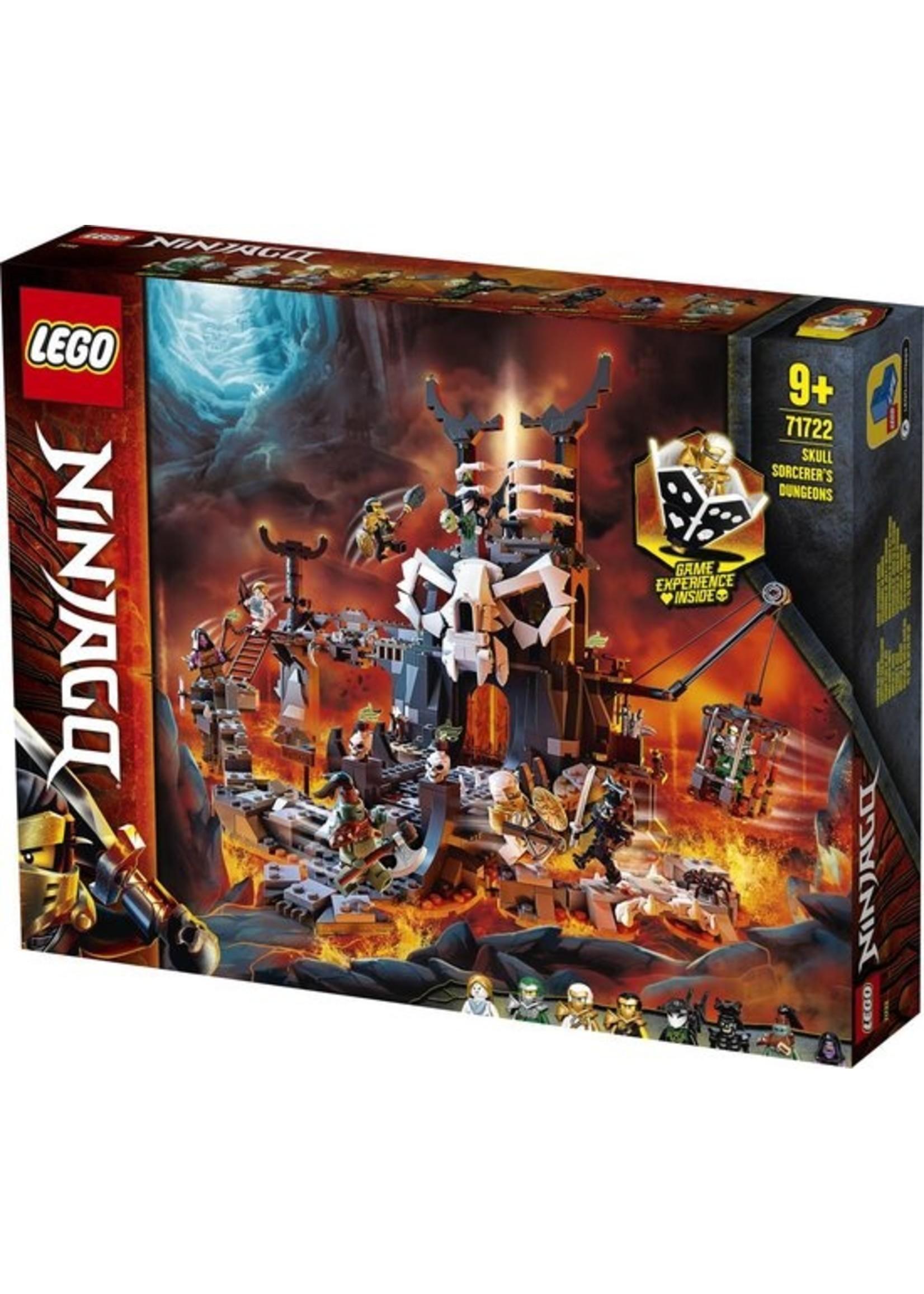 Lego LEGO NINJAGO Skull Sorcerer's Kerkers - 71722