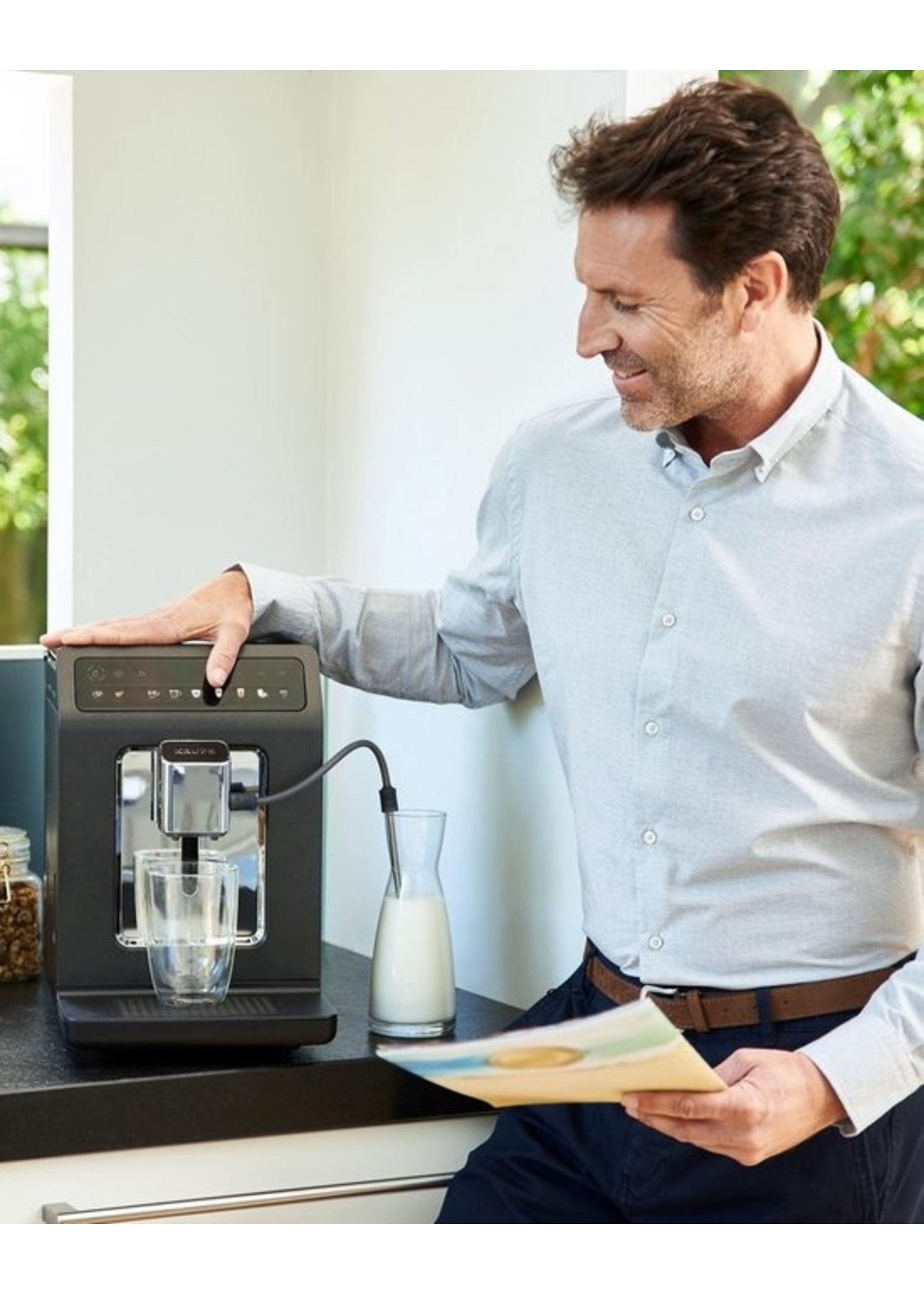 Krups Krups Evidence One EA895N - Volautomatische espressomachine - Zwart