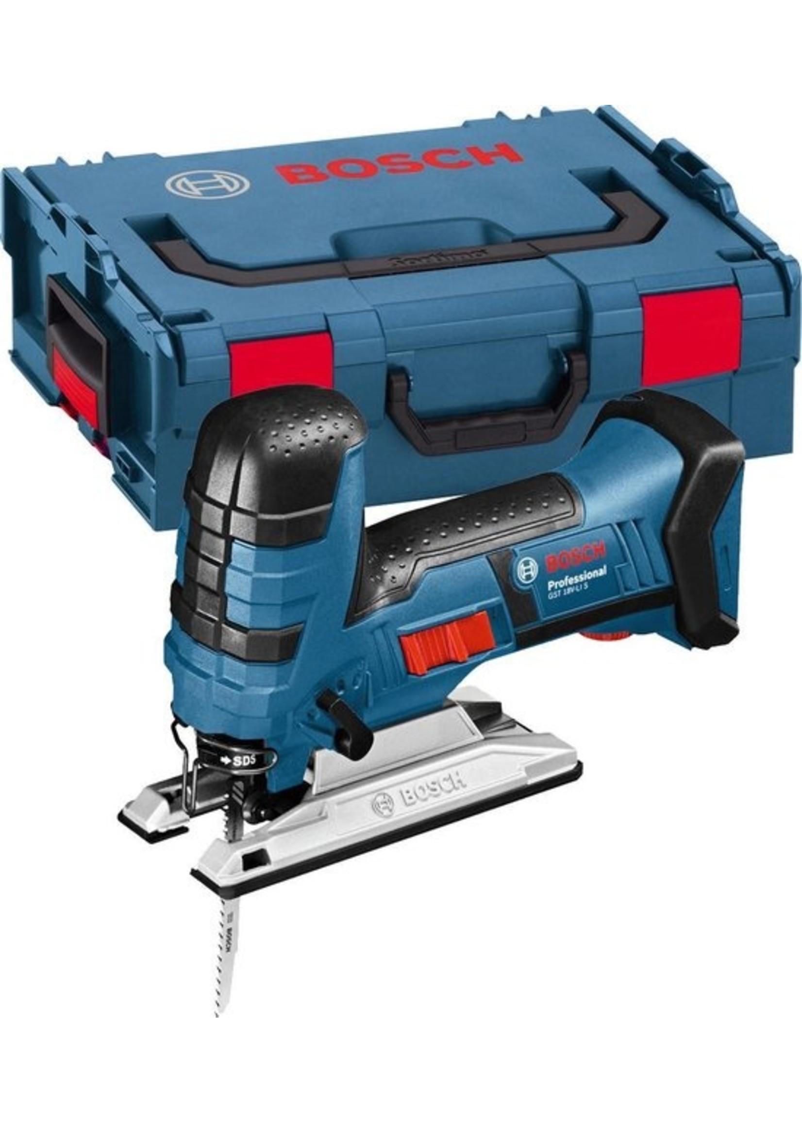 Bosch Bosch Professional GST 18 V-LI S - Accu decoupeerzaag - Met L-BOXX - Losse Body (geleverd zonder accu en lader) koopjeshoek