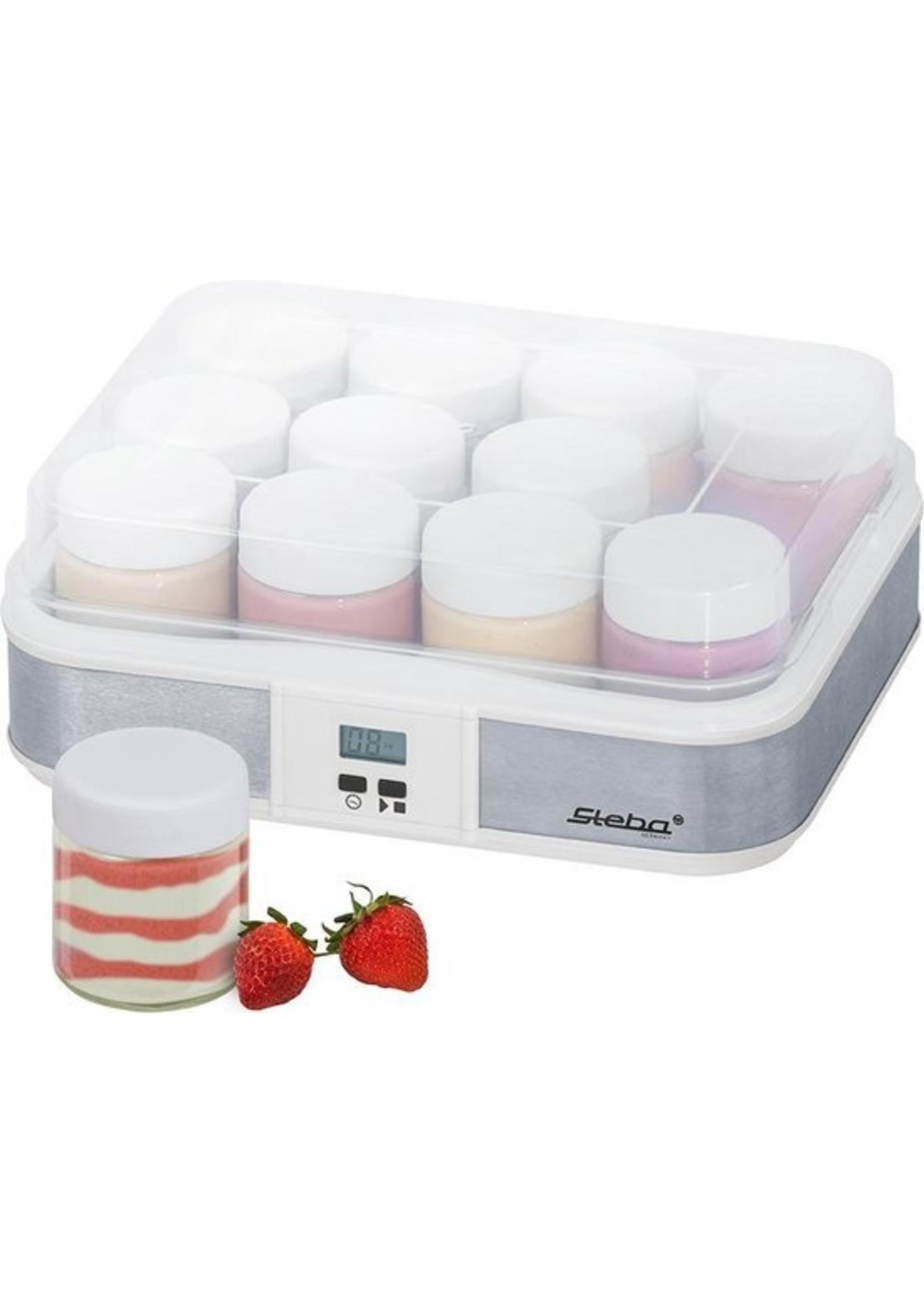 Steba Steba JM2 - Yoghurtmaker 12x210 ml - RVS koopjeshoek