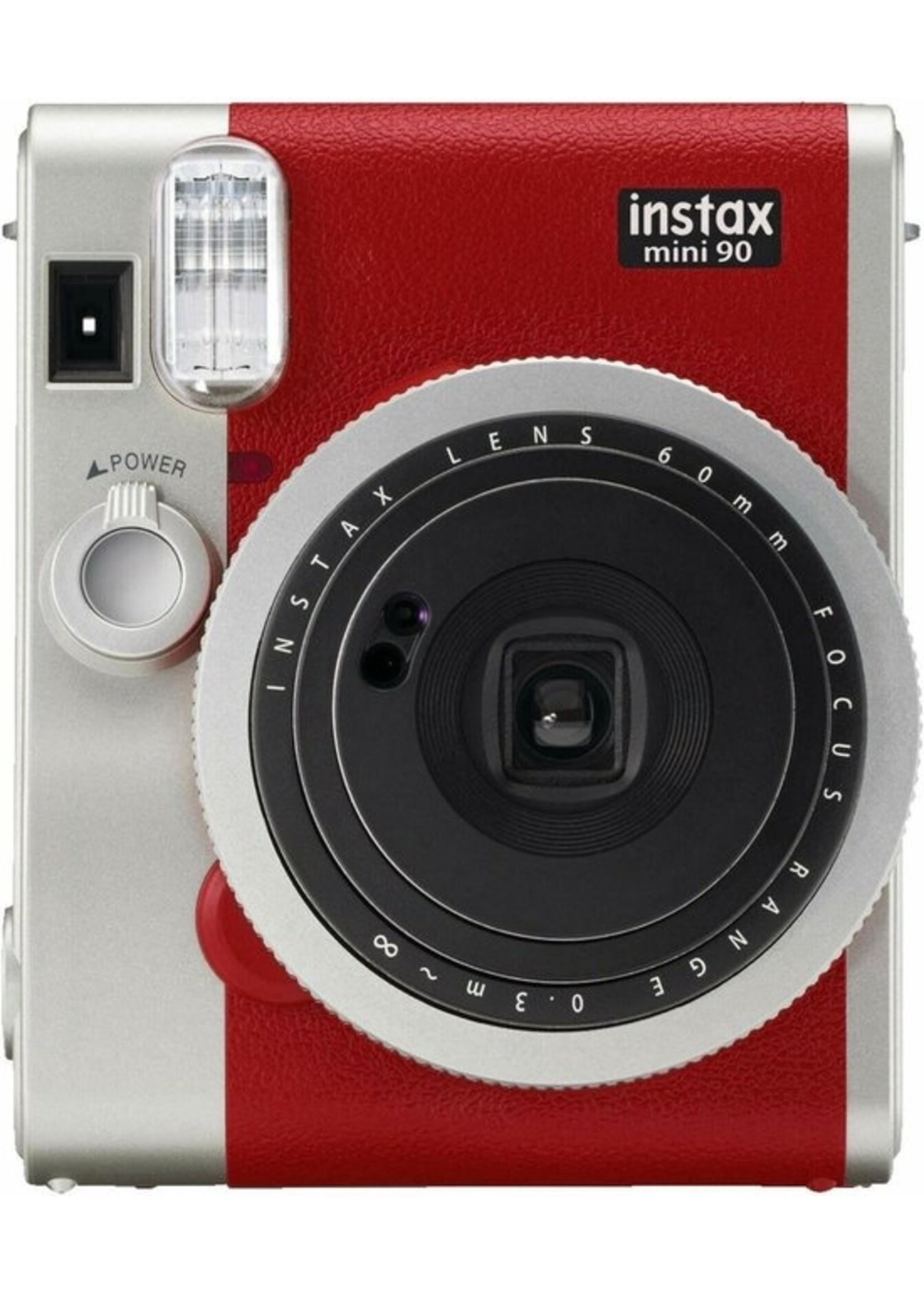 Fujifilm Fujifilm Instax Mini 90 Neo Classic - Rood koopjeshoek