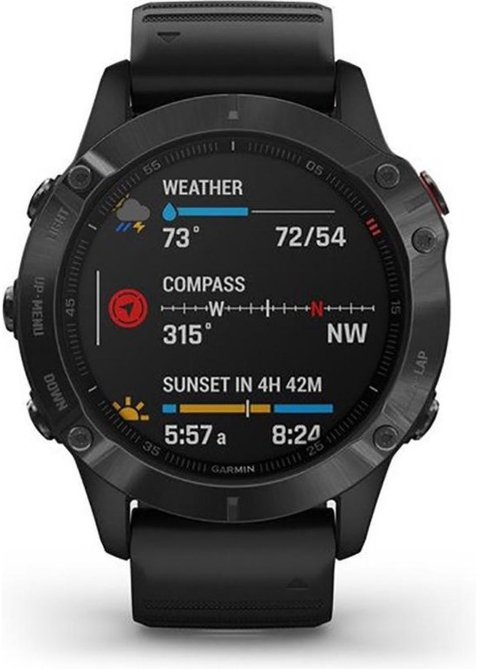 Garmin Garmin Fenix 6 PRO - Multisport - Smartwatch - Black