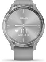 Garmin Garmin Vivomove Sport S - Smartwatch - Grey/Silver koopjeshoek