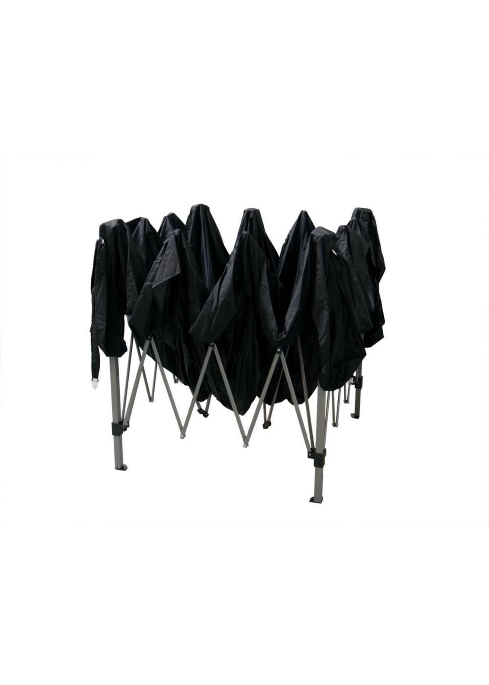 Garden Royal Garden Royal Partytent 3x3m Easy Up zwart met 2 zijwanden koopjeshoek